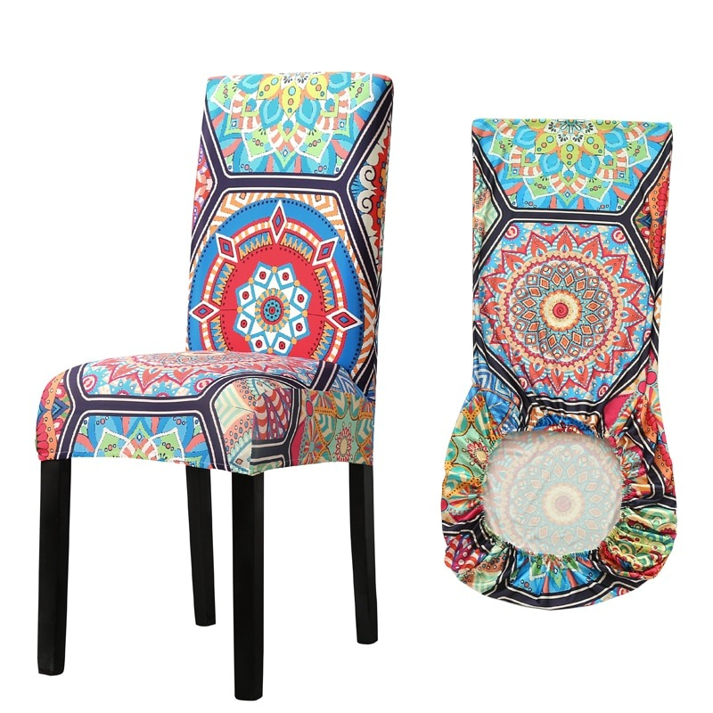stretch chair slipcover  for dining room elastic material chair cover  for office chair banquet chair armchair protector